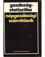 Gazdaságstatisztika - Dr. Drechsler László, Dr. Kupcsik József