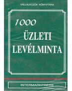 1000 üzleti levélminta - Dr. Fehér István, Cseh Irén, Gál Tibor