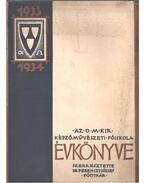 Az O. M. Kir. Képzőművészeti Főiskola évkönyve 1933-1934 - Dr. Ferenczy József
