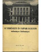Az Erdészeti és Faipari Egyetem tudományos közleményei 1966. év 1-2. szám - Dr. Herpay Imre