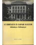 Az Erdészeti és Faipari Egyetem tudományos közleményei 1967. év 1-2. szám - Dr. Herpay Imre
