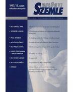 Belügyi Szemle 1997/11. - Dr. Korinek László