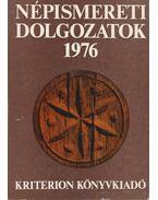 Népismereti dolgozatok 1976 (dedikált) - Dr. Kós Károly