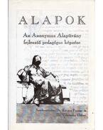 Alapok - Az Anonymus Alapítvány fejlesztő pedagógus képzése - Dr. Kovács Ferenc, Vidovszky Gábor