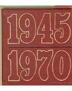 Huszonöt év a dolgozó nép szolgálatában 1945-1970. (mini) - dr. Lipovszky János (szerk.), Vértes Tivadar