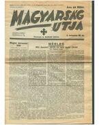 Magyarság utja 1939. december 22. II. évf. 48. sz. (reprint) - Dr. Matolcsy Mátyás