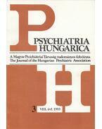 Psychiatria Hungarica 1993/3. - dr. Pintér Gábor