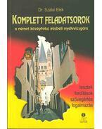 Komplett feladatsorok a német középfokú írásbeli nyelvvizsgára - Dr. Szalai Elek