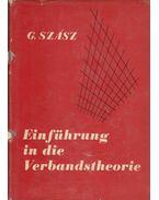 Einführung in die Verbandstheorie - Dr. Szász Gábor