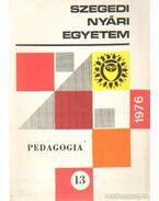 Pedagógia 13. 1976 - Dr. Veczkó József