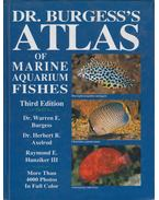 Dr. Burgess's Atlas of Marine Aquarium Fishes - Dr. Warren E. Burgess, Dr. Herbert R. Axelrod, Raymond E. Hunziker III.