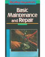Basic Maintenance and Repair - Ed Pavelka