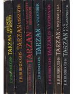 7 db Tarzan kötet - Edgar Rice Burroughs