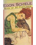 Egon Schiele - Book of 30 Postcards