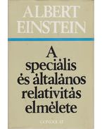 A speciális és általános relativitás elmélete - Einstein, Albert