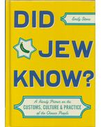 Did jew know? - Emily Stone