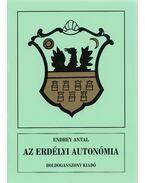 Erdélyi autonómiák - Endrey Antal