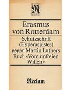 Schutzschrift (Hyperaspistes) gegen Martin Luthers Buch