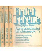 Agrárgazdasági tanulmányok I-III. - Erdei Ferenc