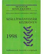 Szállítmányozási kézikönyv 1998 - Erdélyi András