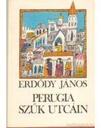 Perugia szűk utcáin - Erdődy János