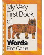 My Very First Word Book of Words - Eric Carle