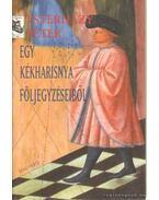Egy kékharisnya följegyzéseiből - Esterházy Péter