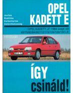 Opel Kadett E - Etzold, Hans-Rüdiger