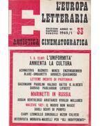 L'Europa Letteraria 1965/33 - Vigorelli, Giancarlo