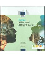 Europe - A thousand different stories