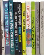 10 db Evelyn Marsh regény - Evelyn Marsh