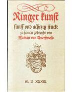 Die Ringer-kunst - Fabian von Auerswald