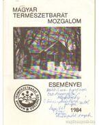 Magyar Természetbarát Mozgalom eseményei 1984 - Faics Lajos