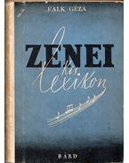 Zenei kislexikon - Falk Géza