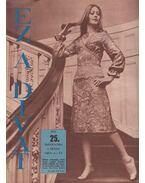 Ez a divat 1972. 25. évfolyam 1. szám - Faragó Ilona