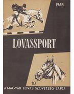 Lovassport 1968/10 - Fehér Dezső