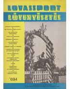 Lovassport és lótenyésztés 1969/4 - Fehér Dezső