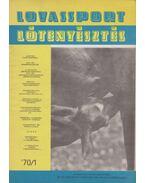 Lovassport és lótenyésztés 1970/1 - Fehér Dezső