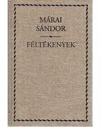 Féltékenyek - Márai Sándor