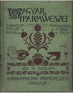 Magyar iparművészet IV. évfolyam - Fittler Kamill, Györgyi Kálmán