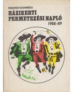 Házikerti permetezési napló - Fok Imre (szerk.), Bertalan Rudolf (szerk.)
