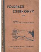 Földrajzi zsebkönyv 1941 - Temesy Győző