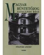 Magyar büntetőjog - Földvári József