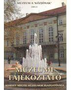 Múzeumi Tájékoztató 2001/2 - Forrai Márta