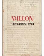 Villon testamentuma - Francois Villon