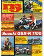 Motorrad-Magazin 1985 Dezember - Franz Josef Schermer