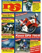 Motorrad-Magazin 1986 November - Franz Josef Schermer