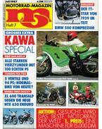Motorrad-Magazin 1987 Juli - Franz Josef Schermer