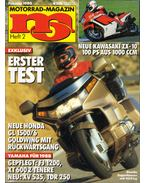 Motorrad-Magazin 1988 Februar - Franz Josef Schermer