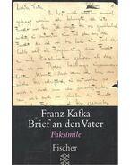 Brief an den Vater - Faksimile - Franz Kafka